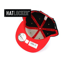 New Era Chicago Bulls On-Court Emblem Collection Snapback Hat