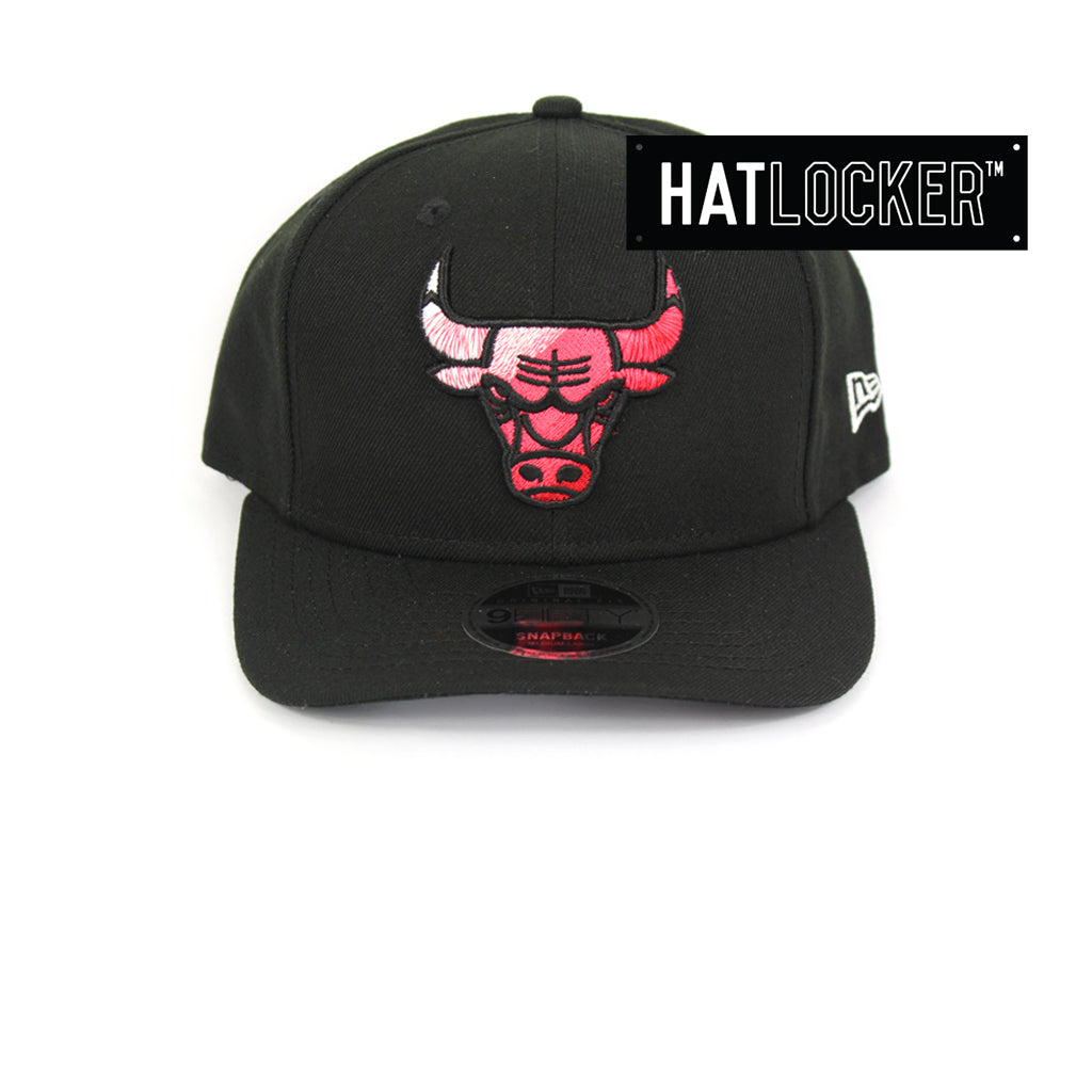 New Era Chicago Bulls Colour Dim Precurved Snapback Hat
