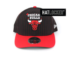 New Era Chicago Bulls Throwback Precurved Snapback Hat