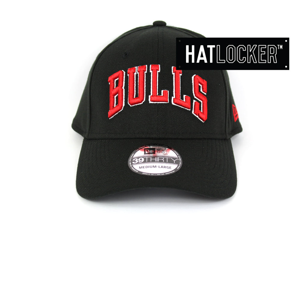 New Era Chicago Bulls Type Hype Curved Brim Cap