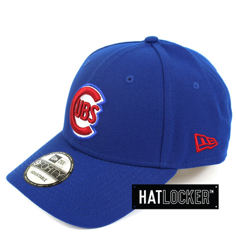 New Era Chicago Cubs Team Curved Snapback Cap