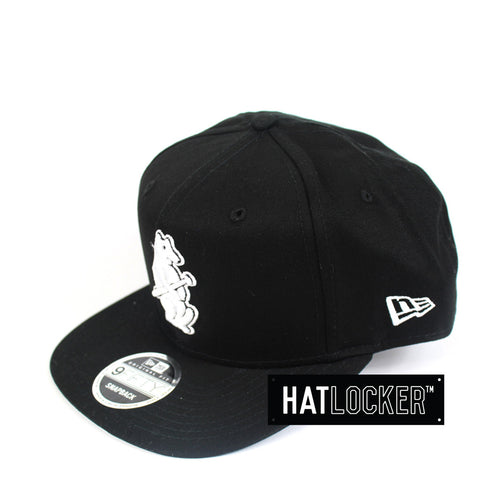 New Era - Chicago Cubs Cooperstown Black Snapback