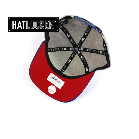 New Era MLB Chicago Cubs Heather Grey Snapback Under Hat Locker Australia