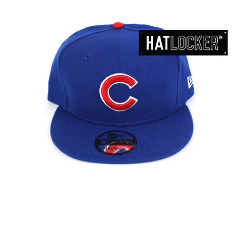 New Era - Chicago Cubs Wordmark Royal Snapback
