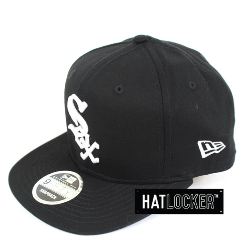 New Era Chicago White Sox Chi-Town B&W Snapback Hat