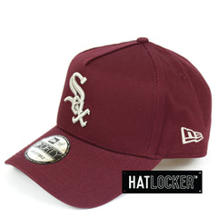 New Era Chicago White Sox Maroon Curved Brim Snapback