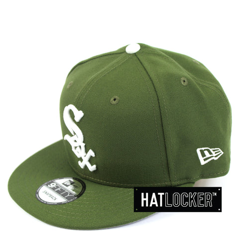 New Era Chicago White Sox Green Mix Snapback Hat