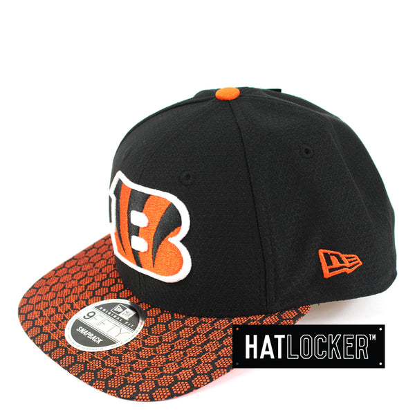 New Era - Cincinnati Bengals 2017 Official Sideline Snapback