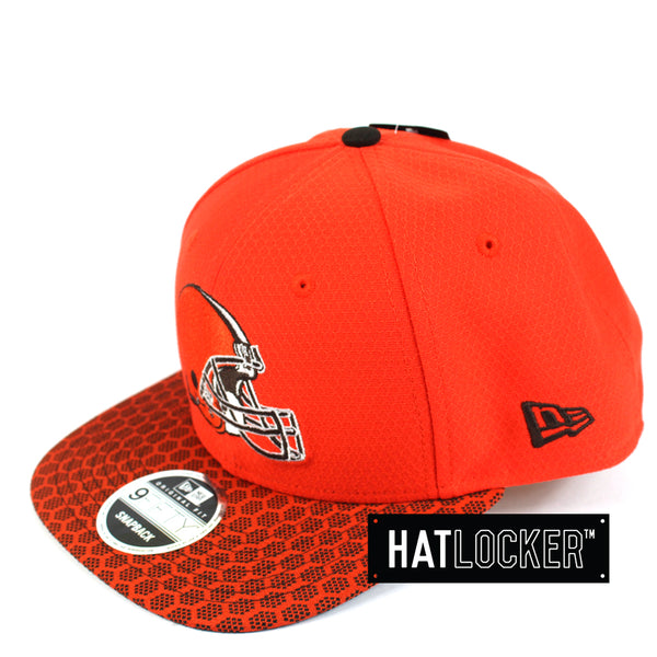 New Era - Cleveland Browns 2017 Official Sideline Snapback