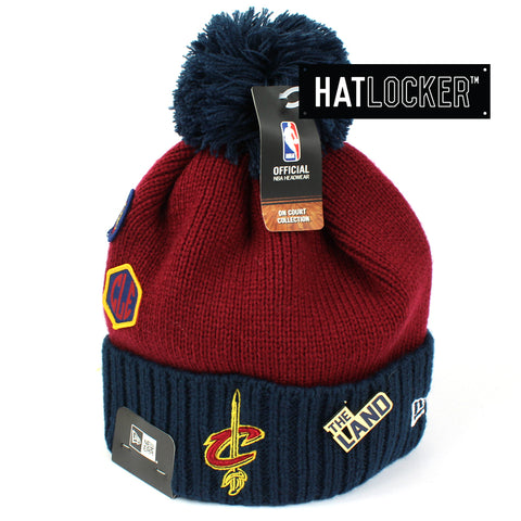 New Era Cleveland Cavaliers 2018 NBA Draft Beanie