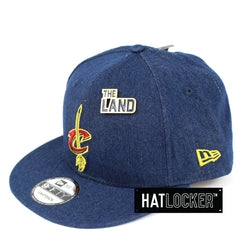 New Era Cleveland Cavaliers Denim Snapback Hat