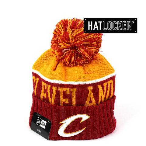 New Era Cleveland Cavaliers Team Dip Youth Beanie