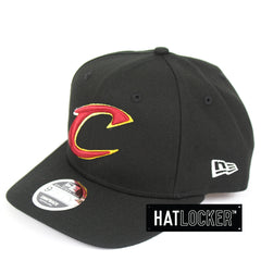 New Era Cleveland Cavaliers Colour Dim Precurved Snapback Hat
