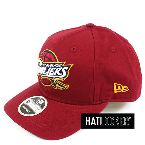 New Era NBA Cleveland Cavaliers Precurved Snapback Side Hat Locker Australia
