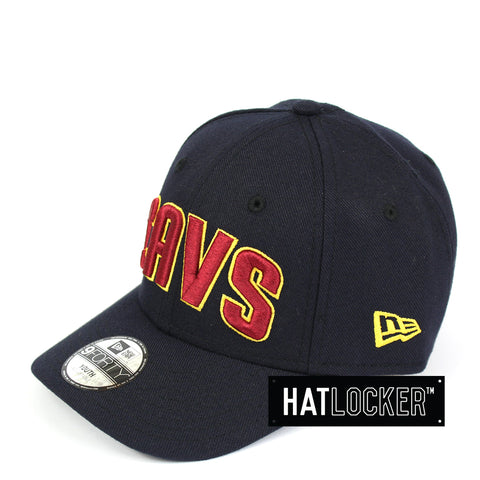 New Era Cleveland Cavaliers Type Hype Youth Curved Brim Cap
