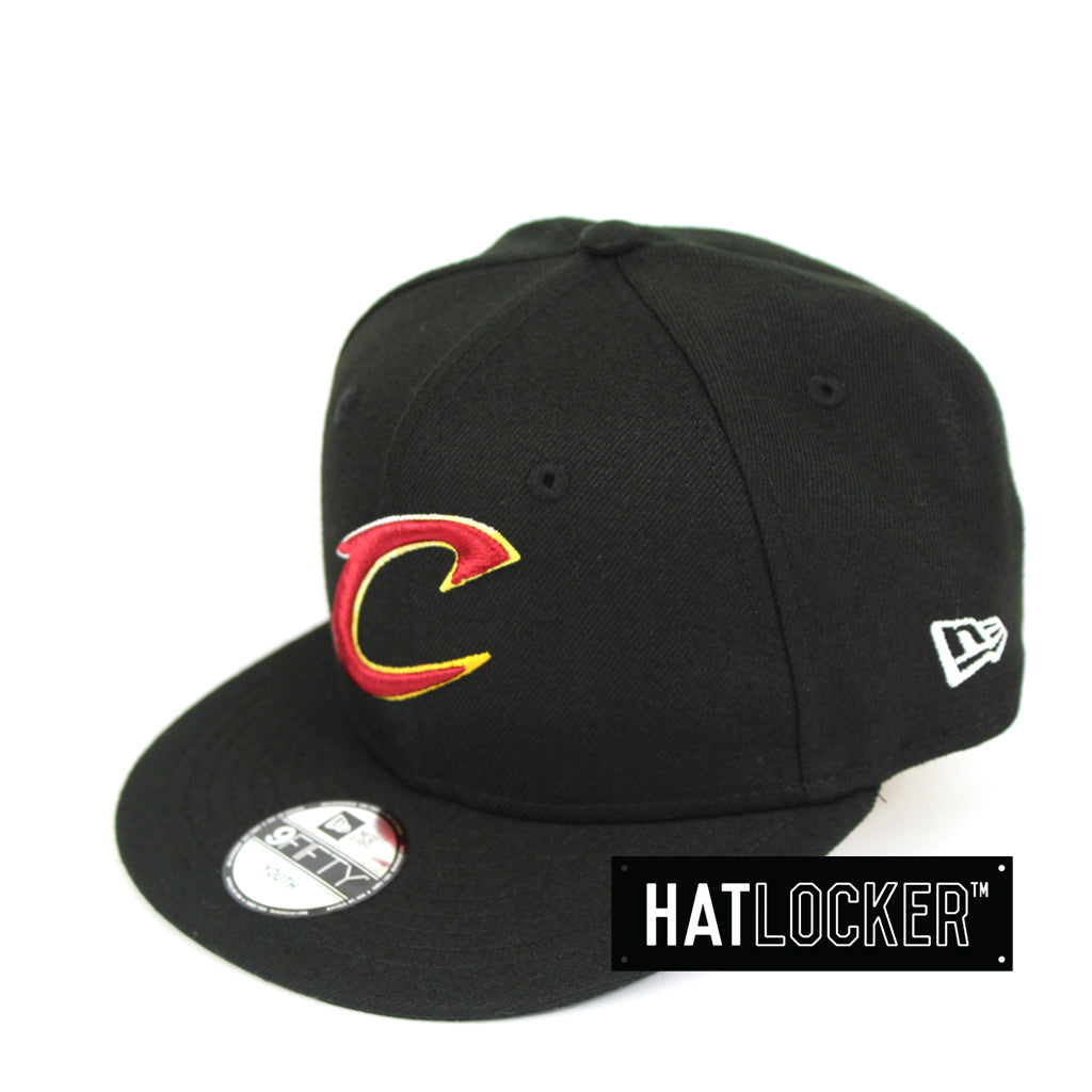 New Era Cleveland Cavaliers Colour Dim Youth Snapback Hat