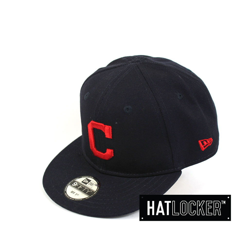 New Era Cleveland Indians Navy My 1st Snapback Hat