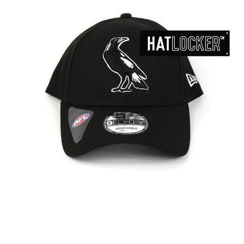 New Era Collingwood Magpies 2019 Core Curved Brim Cap