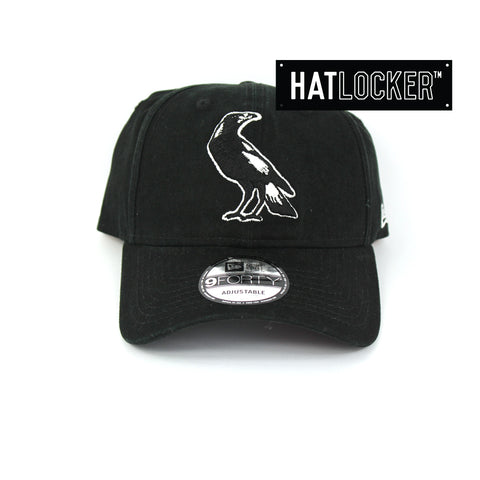 New Era Collingwood Magpies Winter Wash Curved Brim Cap