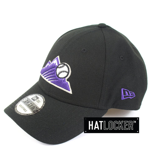 New Era Colorado Rockies Team Badge Curved Snapback Cap