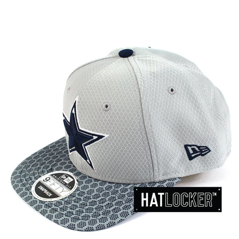 New Era - Dallas Cowboys 2017 Official Sideline Snapback