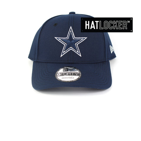 New Era Dallas Cowboys White Pop Curved Snapback Hat