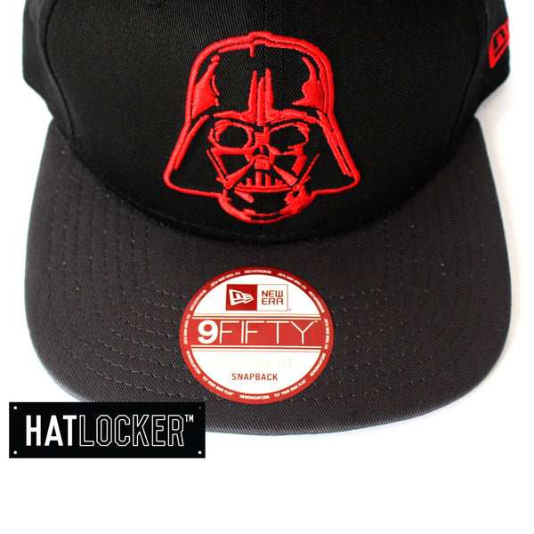 New Era Off Liner Darth Vader Black Snapback