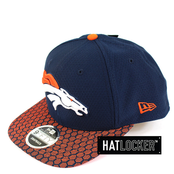 New Era - Denver Broncos 2017 Official Sideline Snapback