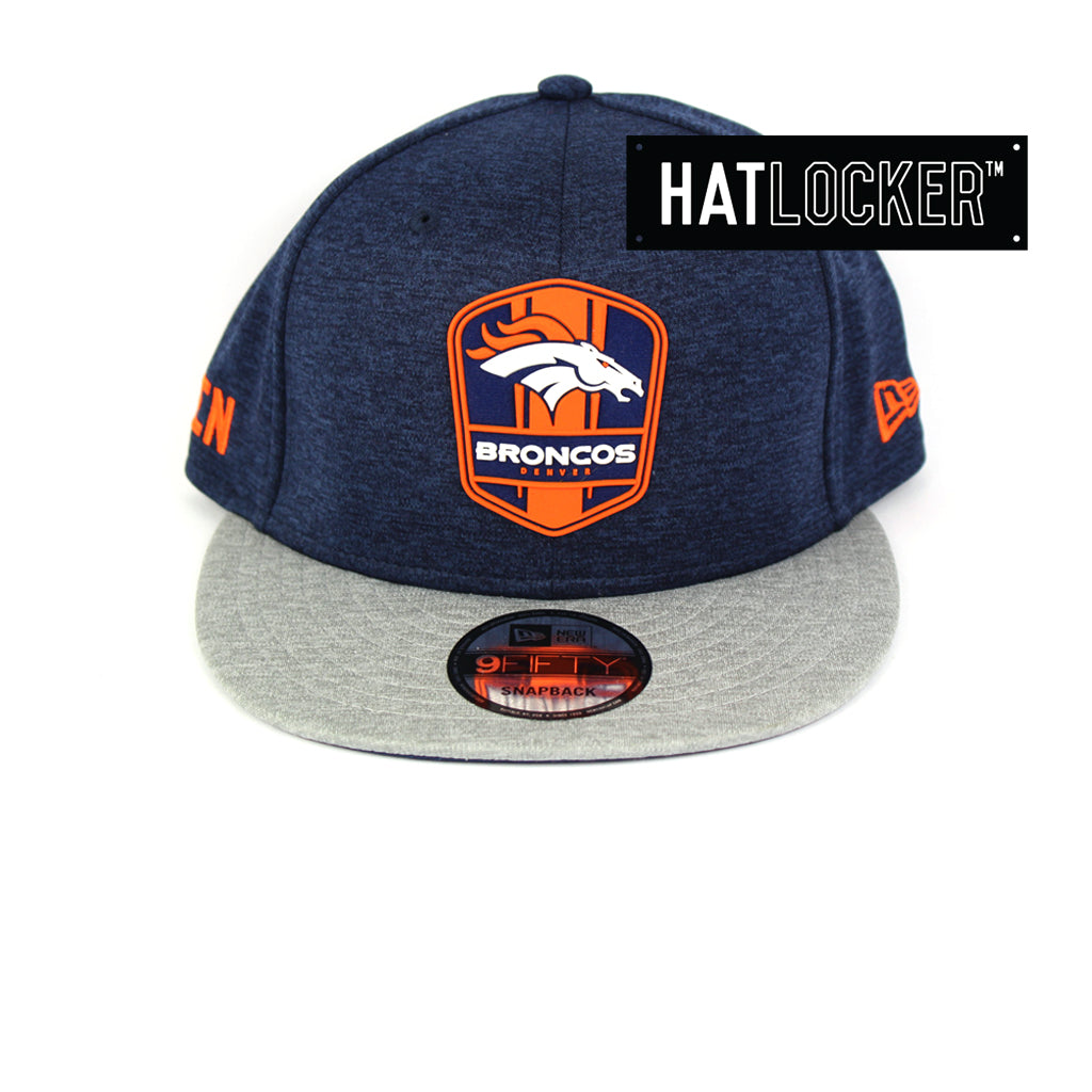 New Era Denver Broncos 2018 Official Sideline Snapback Cap