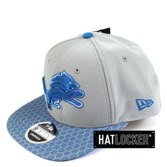 New Era - Detroit Lions 2017 Official Sideline Snapback