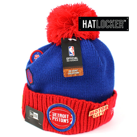 New Era Detroit Pistons 2018 NBA Draft Beanie