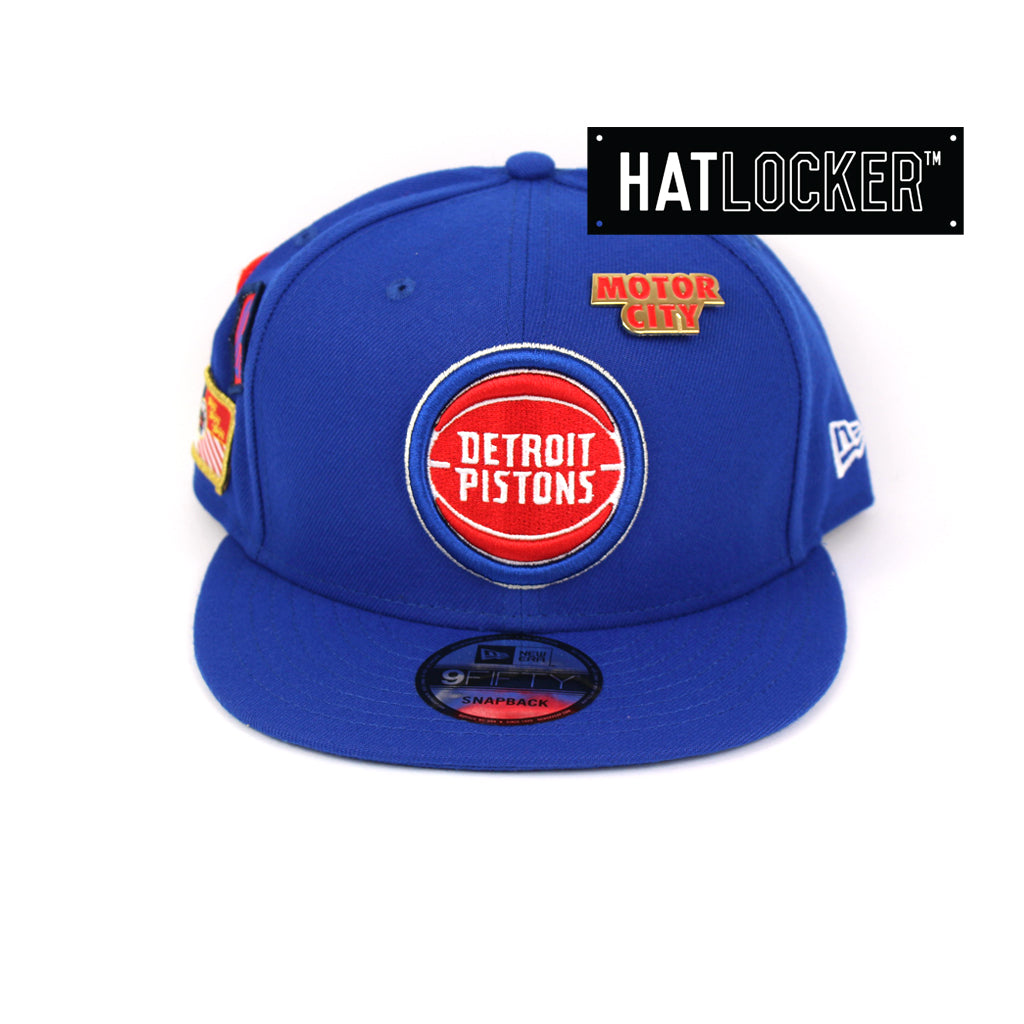 New Era Detroit Pistons 2018 NBA Draft Snapback Cap