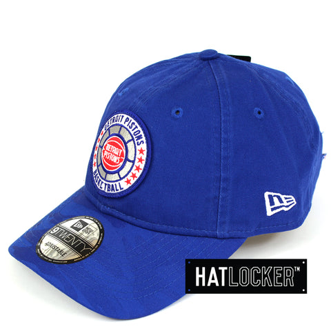 New Era Detroit Pistons 2018 NBA Tip Off Team Colour Curved Brim
