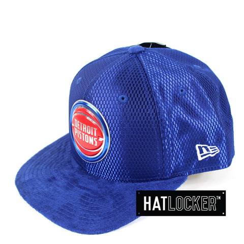 New Era - Detroit Pistons On-Court Draft Collection Snapback