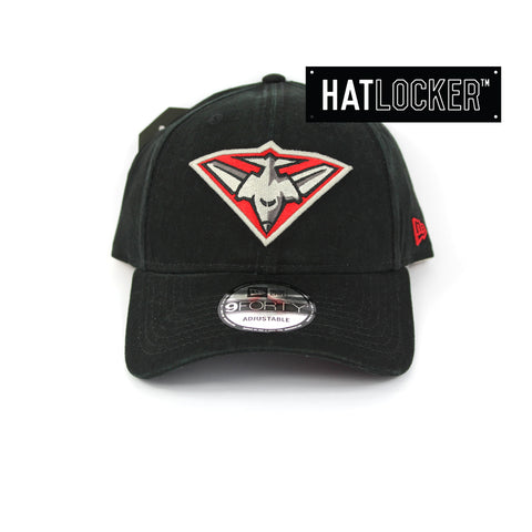 New Era Essendon Bombers Winter Wash Curved Brim Cap