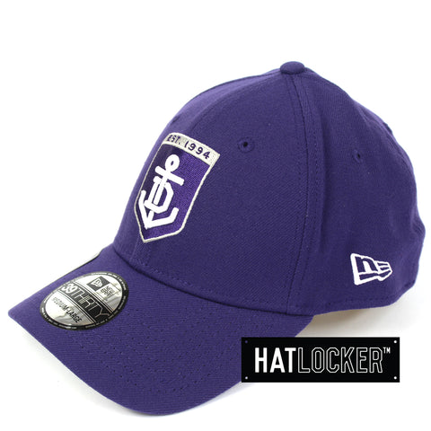 New Era Fremantle Dockers 2019 Core Curved Stretch Fit Cap