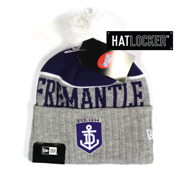 New Era - Fremantle Dockers Heather Dip Beanie