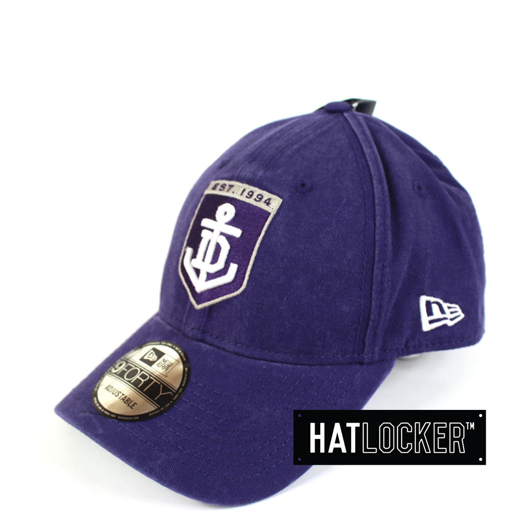 New Era - Fremantle Dockers Washed Cotton Curved Brim