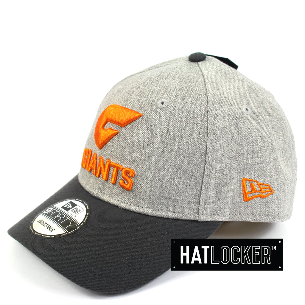New Era GWS Giants Heather Curved Snapback Hat