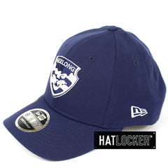 New Era Geelong Cats 2019 Core Precurved Snapback Cap