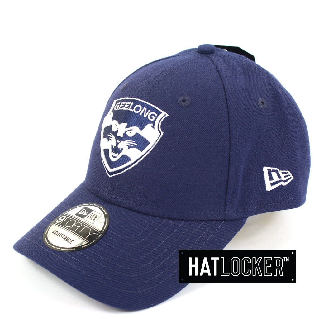 New Era Geelong Cats Core Curved Brim Hats