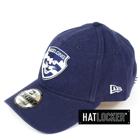 New Era Geelong Cats Winter Wash Curved Brim Cap