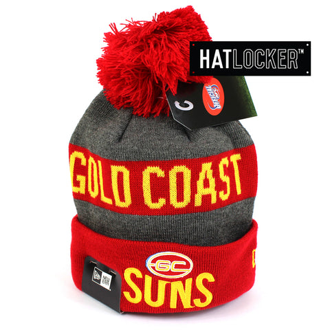 New Era Gold Coast Suns Jake Beanie