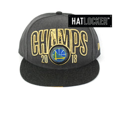 New Era Golden State Warriors 2018 Finals Champions Snapback Ha