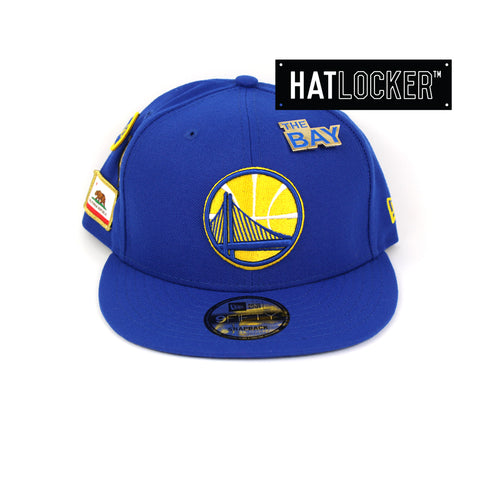 New Era Golden State Warriors 2018 NBA Draft Snapback Hat