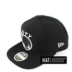 New Era - Golden State Warriors Black & White Snapback