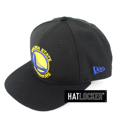 New Era Golden State Warriors Melton Visor Snapback Hat