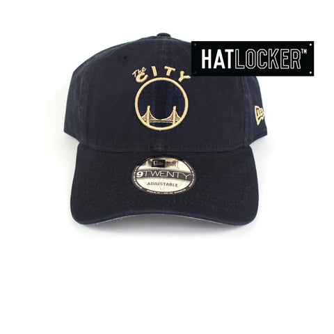 New Era - Golden State Warriors Navy Seashell Mix Up Curved Brim
