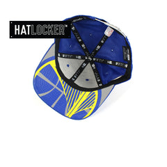 New Era - Golden State Warriors On-Court Draft Collection Snapback