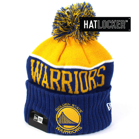 New Era Golden State Warriors Team Dip Beanie